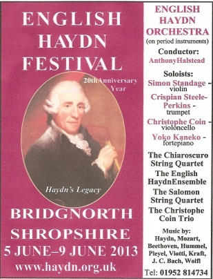 English Haydn Festival June 2012