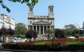 Eglise Saint Vincent de Paul à Paris