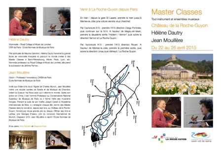 Brochure MasterClasses2015 2015