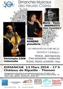 affiche 13 mars 2016 Kaneko Coin Andreotti v2