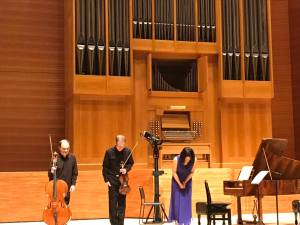 Musashino Culture Hall, Tokyo, 19 avril 2018 Christophe Coin & Frends, Schubert,