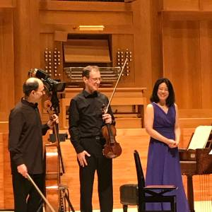 Musashino Culture Hall, Toyo, Concert Schubert Christophe Coin & Friends, 19 avril 2018